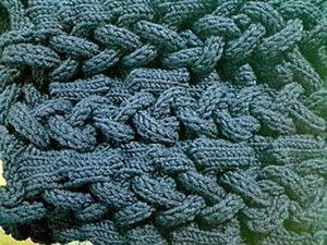 Техника выполнения плетеных кос на вязальной машине. Ярмарка Мастеров - ручная работа, handmade.