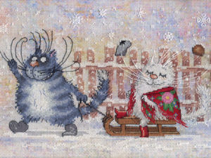 Мартовский кот посылочки везет. Ярмарка Мастеров - ручная работа, handmade.