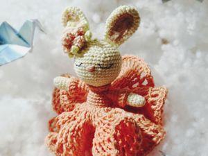 Мастер-класс по вязанию крючком миниатюрной игрушки  «Милашка Кроля». Ярмарка Мастеров - ручная работа, handmade.
