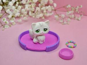 Видео мастер-класс: подвижная фигурка кошки из полимерной глины. Ярмарка Мастеров - ручная работа, handmade.