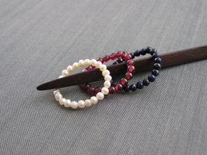 Мягкие колечки из камешков. Ярмарка Мастеров - ручная работа, handmade.