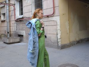 Тот самый зеленый комбинезон. Ярмарка Мастеров - ручная работа, handmade.