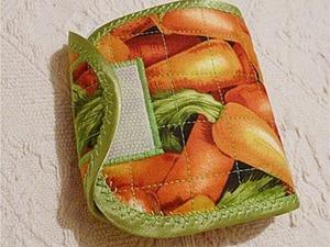Шьем кошелек для дамских штучек. Ярмарка Мастеров - ручная работа, handmade.
