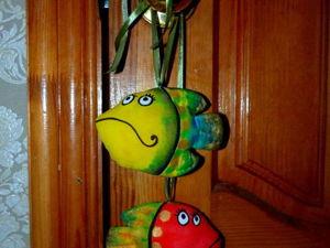 Шьем своими руками яркую текстильную рыбку «Рыба моя!». Ярмарка Мастеров - ручная работа, handmade.