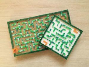 Создаем забавную игру для детей из термомозаики. Ярмарка Мастеров - ручная работа, handmade.