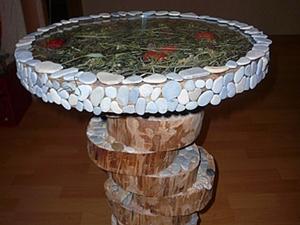 Делаем необычный декоративный столик. Ярмарка Мастеров - ручная работа, handmade.