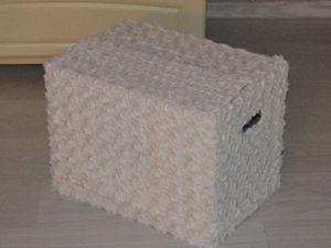 Мастерим коробку для игрушек. Ярмарка Мастеров - ручная работа, handmade.