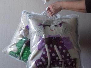 Как я упаковываю подушки?. Ярмарка Мастеров - ручная работа, handmade.