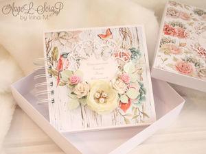 Сберегательная книжка в коробочке на свадьбу. Ярмарка Мастеров - ручная работа, handmade.