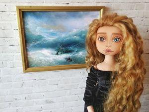 Эмили (Девушка в картинной галерее). Ярмарка Мастеров - ручная работа, handmade.