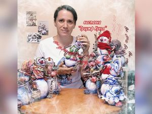 Выставка авторской куклы в Саратове. Ярмарка Мастеров - ручная работа, handmade.