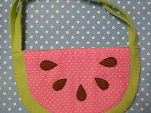 Шьем сумочку-арбуз из фетра. Ярмарка Мастеров - ручная работа, handmade.
