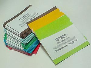 Нехитрые самодельные визитки. Ярмарка Мастеров - ручная работа, handmade.