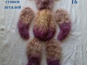 Простой вариант полного или частичного окрашивания меха игрушечного мишки: мастер-класс. Ярмарка Мастеров - ручная работа, handmade.