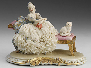 1000 and 1 Story in Capodimonte Porcelain. Livemaster - handmade