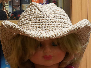 Исправление ошибок вязания шляпы из пряжи раффия. Ярмарка Мастеров - ручная работа, handmade.