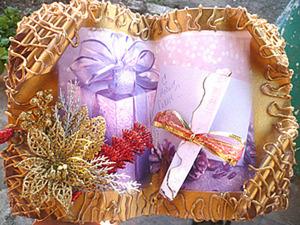 Новогодняя книга-открытка своими руками.. Ярмарка Мастеров - ручная работа, handmade.