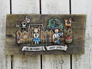 Делаем ключницу «Ты мелодия моей души». Ярмарка Мастеров - ручная работа, handmade.