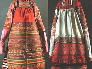 Рубаха-долгорукавка и ее история. Ярмарка Мастеров - ручная работа, handmade.