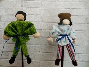 Игровая народная кукла Кулачник — мастер класс. Ярмарка Мастеров - ручная работа, handmade.
