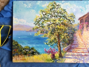 Морские пейзажи — украшение интерьера и приятные воспоминания. Ярмарка Мастеров - ручная работа, handmade.