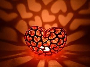 """Подсвечник """"горящее сердце"""". часть 1. лепка. Ярмарка Мастеров - ручная работа, handmade."""