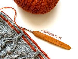 Вязание в три нити от одного клубка. Ярмарка Мастеров - ручная работа, handmade.
