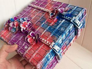 Video Tutorial: Box Decoration. Livemaster - hecho a mano - handmade.