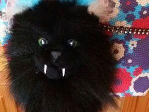 Мастерим брелок «Кот Мрякула». Ярмарка Мастеров - ручная работа, handmade.