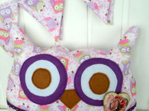 Шьем подушку-пижамницу «Сова Угу». Ярмарка Мастеров - ручная работа, handmade.