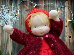 Вальдорфская куколка Катюша. Ярмарка Мастеров - ручная работа, handmade.