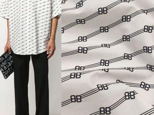 Люксовая сорочечная ткань. Ярмарка Мастеров - ручная работа, handmade.