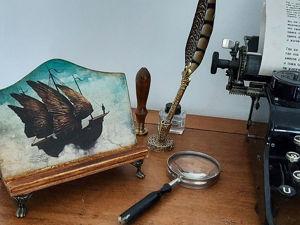 Новая коллекция винтажных подставок. Часть 1. Морские сказки. Ярмарка Мастеров - ручная работа, handmade.