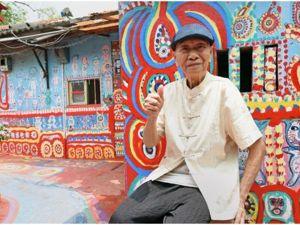 Rainbow village — деревня, которую украсил 97-летний мужчина. Ярмарка Мастеров - ручная работа, handmade.