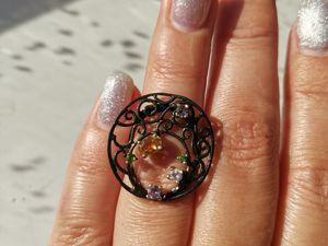 Видео кольца с цитрином. Ярмарка Мастеров - ручная работа, handmade.