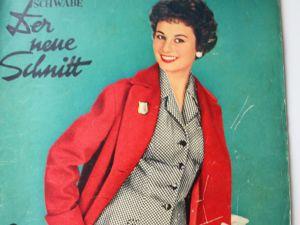 Der Neuer Schnitt — старый немецкий журнал мод — 9/1956. Ярмарка Мастеров - ручная работа, handmade.