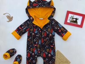 Шьем растущий комбинезон для малыша. Ярмарка Мастеров - ручная работа, handmade.