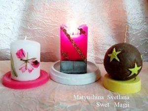 Значение цвета свечей в магии. Ярмарка Мастеров - ручная работа, handmade.