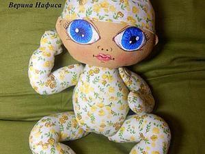 "Процесс создания куклы ""Малыш"". Ярмарка Мастеров - ручная работа, handmade."