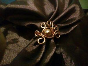 Делаем простое кольцо из проволоки. Ярмарка Мастеров - ручная работа, handmade.