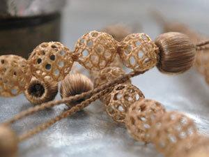 Украшения из волос. Ярмарка Мастеров - ручная работа, handmade.