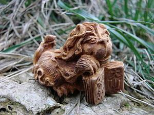 Резьба по дереву - режем нэцкэ. Ярмарка Мастеров - ручная работа, handmade.