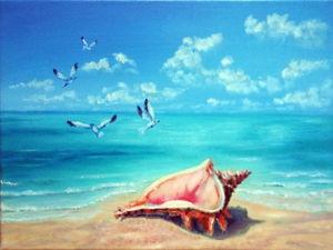 Море шумит. Ярмарка Мастеров - ручная работа, handmade.