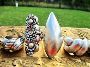 Анонс публикации о шикарных кольцах из серебра!. Ярмарка Мастеров - ручная работа, handmade.