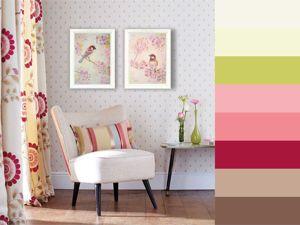 Как гармонично вписать картину в интерьер с помощью цветового анализа. Ярмарка Мастеров - ручная работа, handmade.
