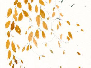 Уйти в осенний лес и рисовать. Ярмарка Мастеров - ручная работа, handmade.