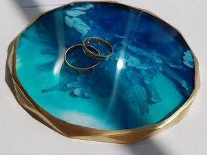 Свадебные радости: оригинальные подставки для колец. Ярмарка Мастеров - ручная работа, handmade.