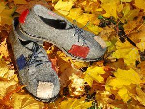 Туфли со старой коробки. Ярмарка Мастеров - ручная работа, handmade.