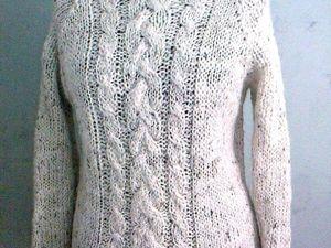 Вяжем свитер-гольф Monte. Ярмарка Мастеров - ручная работа, handmade.