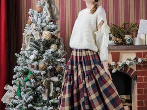 Юбка  «Рождественский пирог». Ярмарка Мастеров - ручная работа, handmade.